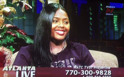 P.U.R.S.E. Foundation Founder Erika Lee on Atlanta Live
